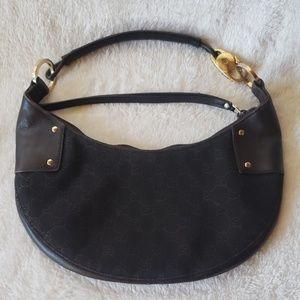 Gucci Hobo Shoulder Bag(monogram canvas & leather)
